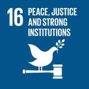Goal 16. Promote peaceful and inclusive societies for sustainable development, provide access to justice for all and build effective, accountable and inclusive institutions at all levels