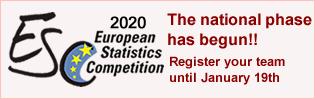 European Statistics Competition 2019