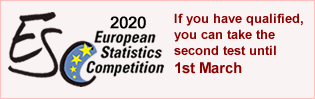 European Statistics Competition 2020