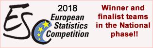 2018 European Statistics Competition