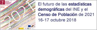 Jornadas: El futuro de las estadísticas demográficas...