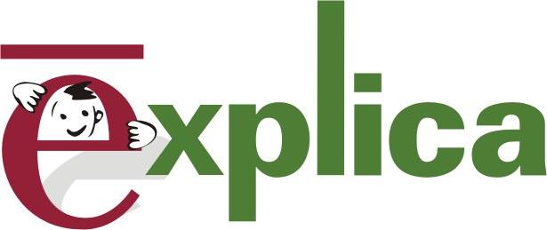 Logotipo Explica. Ir a Explica