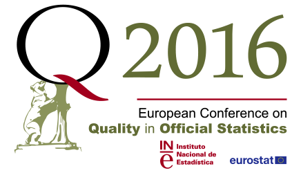Q2016 – European Conference on Quality in Official Statistics – Madrid 2016